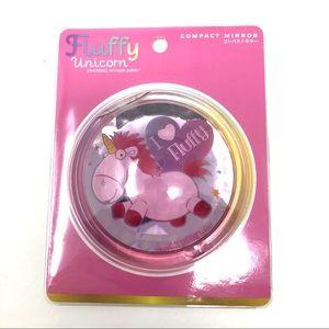 🆕 Fluffy, Despicable Me, portable pocket mirror